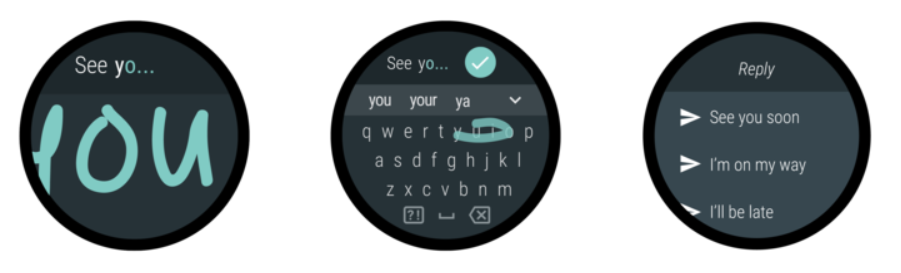 Getting User Input on Wear OS – Part 2 – Keyboard