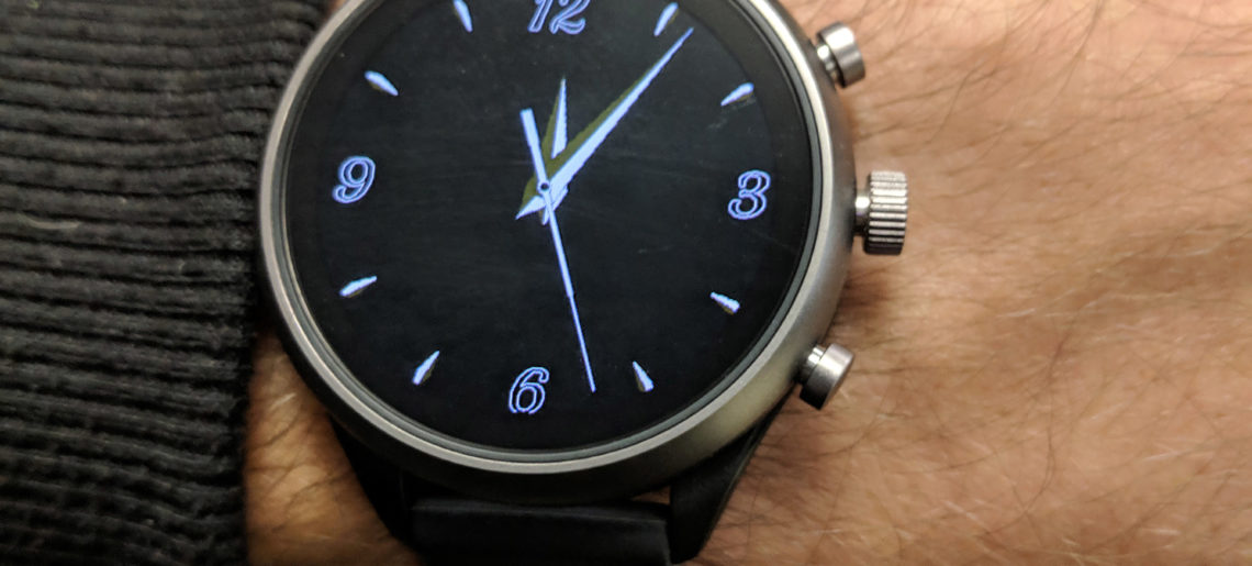 Implementing the new ambient second hand for Wear OS with Watch Face Decompositions