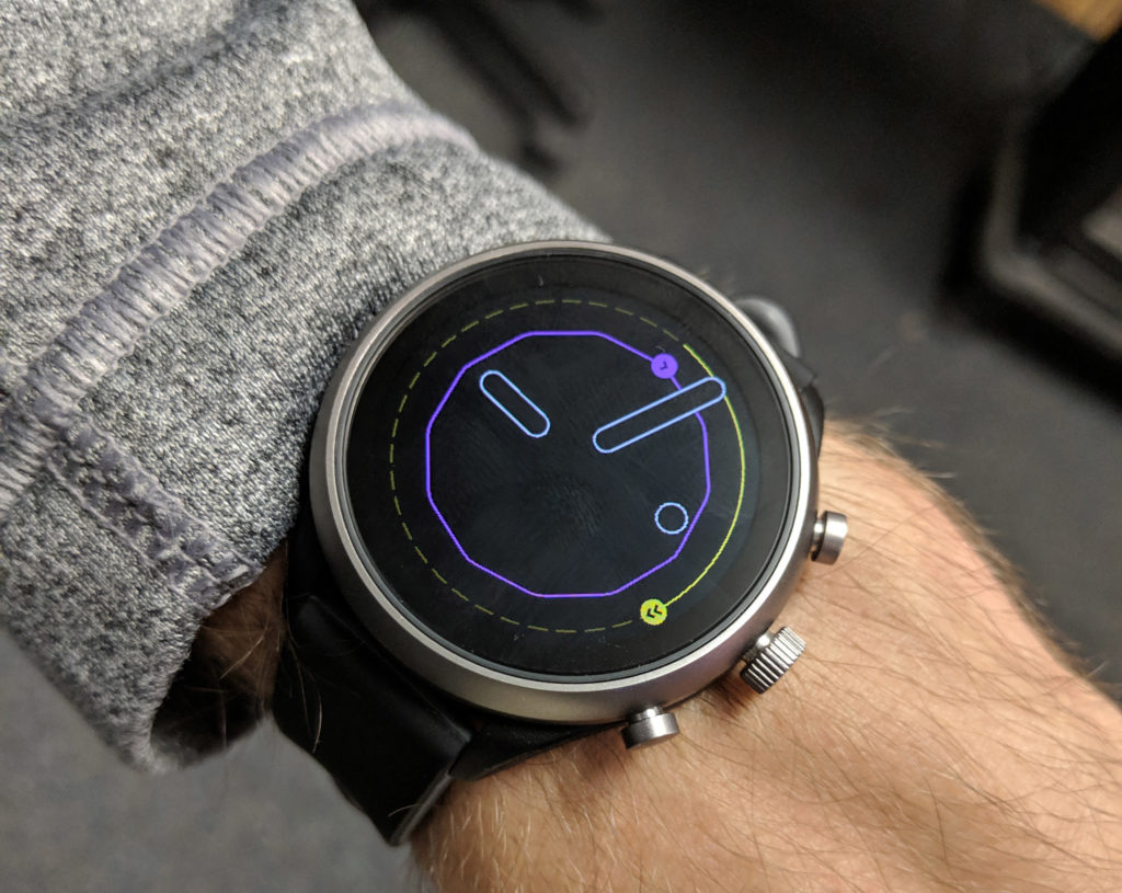 Implementing the new ambient second hand for Wear OS with